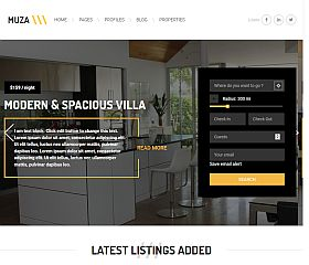 Musa WordPress Theme via ThemeForest