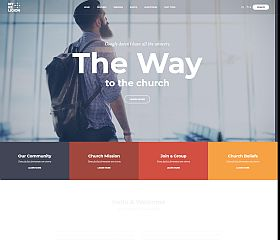 My Religion WordPress Theme via ThemeForest