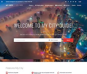 MyCity WordPress Theme via ThemeForest