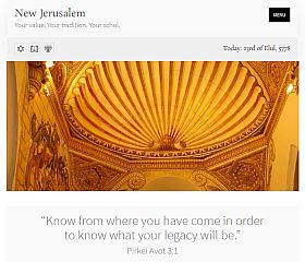 New Jerusalem WordPress Theme via ThemeForest