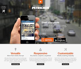 Petrichor WordPress Theme via ThemeForest
