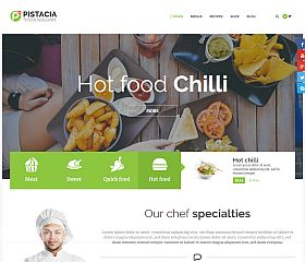 Pistacia WordPress Theme via ThemeForest