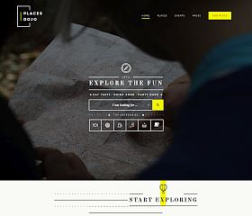 PlacesDojo WordPress Theme via ThemeForest