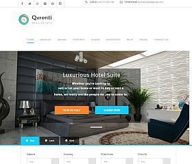 Qvrenti WordPress Theme via ThemeForest