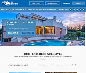 Real Estate WordPress WordPress Theme via ThemeForest