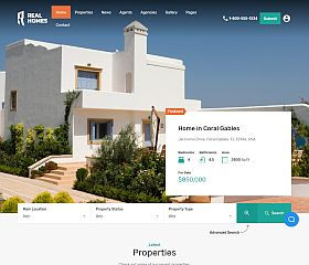 Real Homes WordPress Theme via ThemeForest