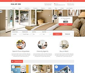 Real Spaces WordPress Theme via ThemeForest