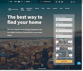 Realtyspace WordPress Theme via ThemeForest