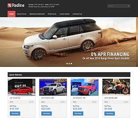 Redline WordPress Theme via ThemeForest