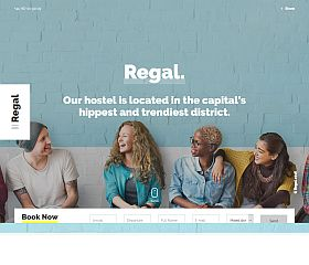 Regal Hostel WordPress Theme via ThemeForest