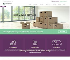 Removals WordPress Theme via ThemeForest