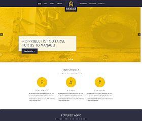 Renovation WordPress Theme via ThemeForest