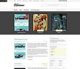 Reviewer WordPress Theme via ThemeForest