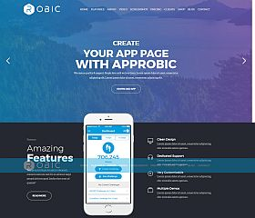 Robic WordPress Theme via ThemeForest