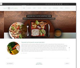 SaltKitchen WordPress Theme via ThemeForest