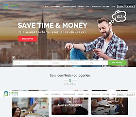 Service Finder WordPress Theme via ThemeForest