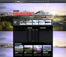 Soccer Club WordPress Theme via ThemeForest