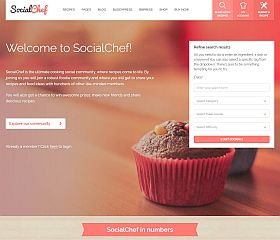 SocialChef WordPress Theme via ThemeForest