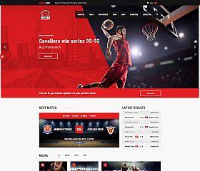 Splash Sport WordPress Theme via ThemeForest