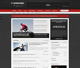 Sportimo WordPress Theme via ThemeForest