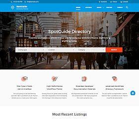 SpotGuide WordPress Theme via ThemeForest