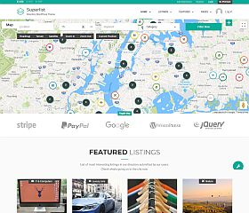 Superlist WordPress Theme via ThemeForest