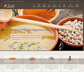 Sushi Restaurant WordPress Theme via ThemeForest