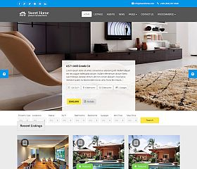 Sweethome WordPress Theme via ThemeForest