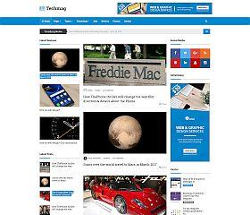 TechMag WordPress Theme via ThemeForest