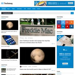 TechMag WordPress Theme via ThemeForest
