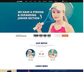 Tennis Club WordPress Theme via ThemeForest
