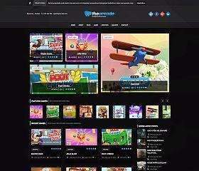 The Arcade WordPress Theme via ThemeForest