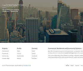 The Contractor WordPress Theme via ThemeForest