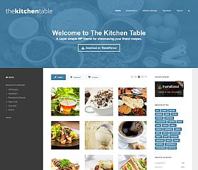 The Kitchen Table WordPress Theme via ThemeForest