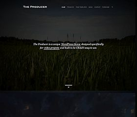 The Producer WordPress Theme via ThemeForest