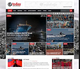 Today WordPress Theme via ThemeForest