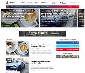 topHot WordPress Theme via ThemeForest