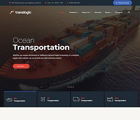 Translogic WordPress Theme via ThemeForest