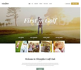 Triompher WordPress Theme via ThemeForest