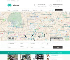 Villareal WordPress Theme via ThemeForest