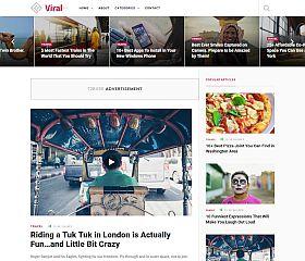 ViralWP WordPress Theme via ThemeForest