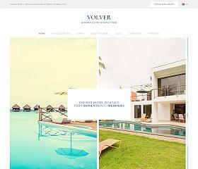 Volver Hotel WordPress Theme via ThemeForest