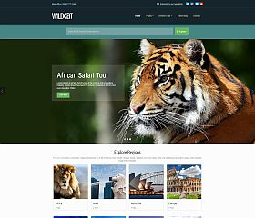 Wildcat WordPress Theme via ThemeForest