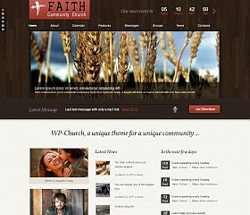WP-Church WordPress Theme via ThemeForest