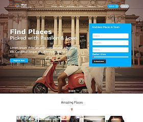 Wyzi WordPress Theme via ThemeForest