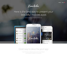 Xmobile WordPress Theme via ThemeForest