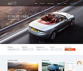 Auto Trader WordPress Theme by ThemeFuse