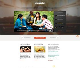 Evangelist WordPress Theme by ThemeFuse