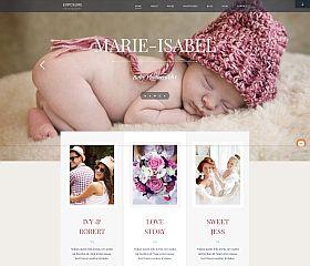Exposure WordPress Theme by ThemeFuse