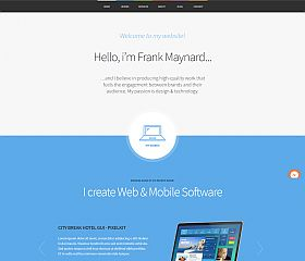 Freelancer WordPress Theme by ThemeFuse